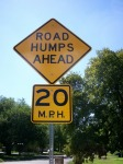 road humps