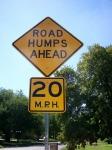 road humps