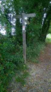 north downs way sign