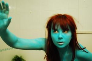 blue mima