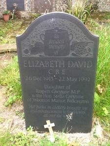 Elizabeth_David_gravestone